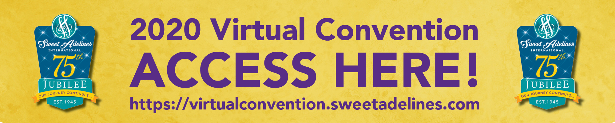 2020 Virtual Convention - Access Here