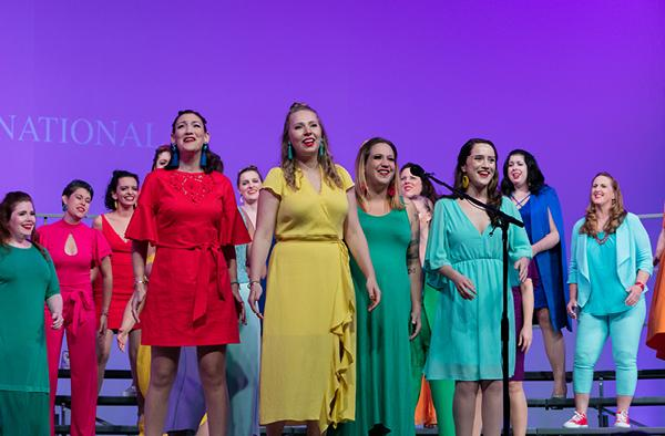 Sirens of Gotham Chorus Selected as Opening Act for Disney's DCappella Tour