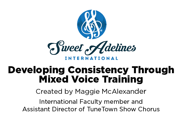 Developing Consistency Through Mixed Voice Training
