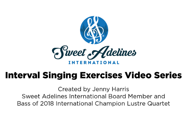 Interval Singing Exercises Video Series with Jenny Harris