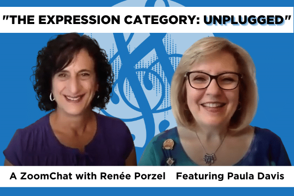 ZoomChat expression category unplugged