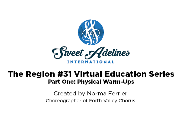 Region 31 part 1 physical warm-ups with Norma Ferrier