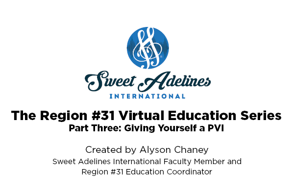 Region 31 part 3 PVI with Alyson Chaney