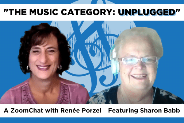 ZoomChat Renee Porzel Sharon Babb Music Category Unplugged
