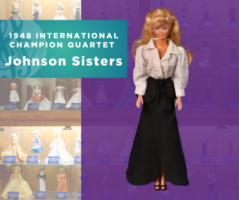 1948 Quartet Champion Doll, Johnson Sisters