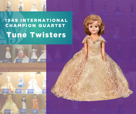 1949 International Quartet Champion Doll, Tune Twisters