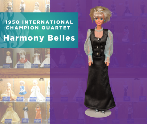 1950 International Champion Quartet Doll, Harmony Belles