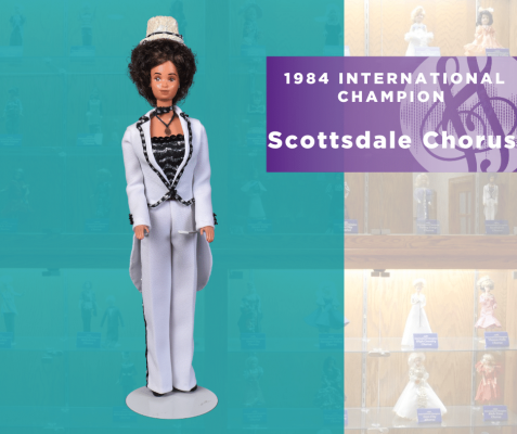 Representing...The 1984 Sweet Adelines International Champion Scottsdale Chorus!