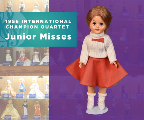 1956 Sweet Adelines International Champion Quartet Doll, Junior Misses