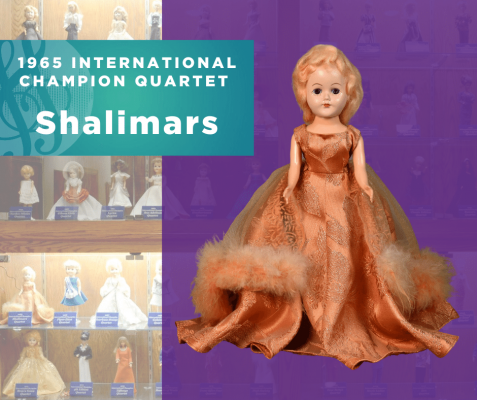 Representing...The 1965 Sweet Adelines International Champion Quartet, Shalimars!