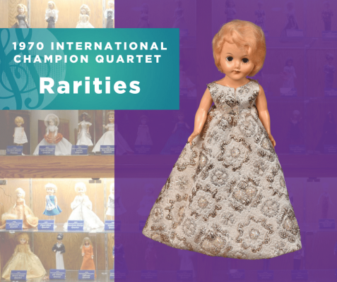 1970 Sweet Adelines International Champion Quartet doll, Rarities