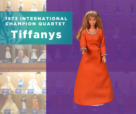 1973 Champion Quartet Doll, Tiffanys