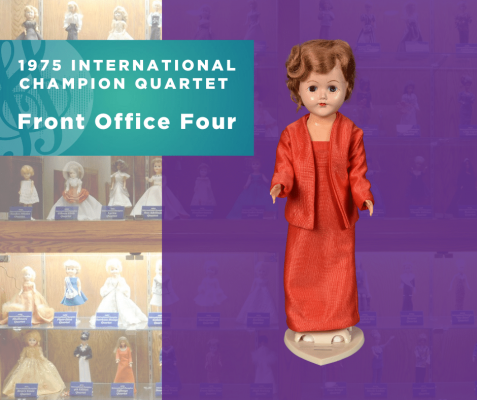 1975 Champion Quartet Doll, Front Office Four