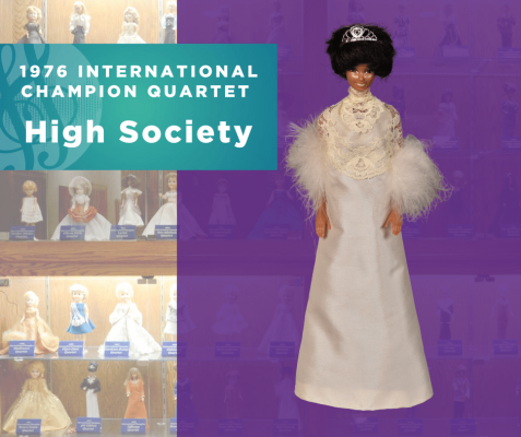 1976 Champion Quartet Doll, High Society