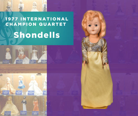 1977 Champion Quartet Doll, Shondells