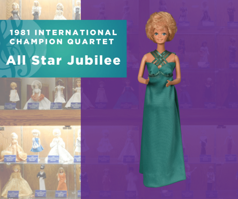 1981 Quartet Doll, All Star Jubilee