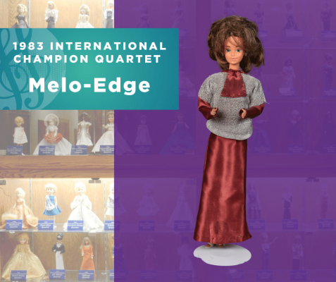 Representing...The 1983 Sweet Adelines International Champion Quartet, Melo-Edge!