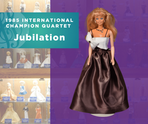 Representing...The 1985 Sweet Adelines International Champion Quartet, Jubilation!