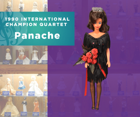 Representing...The 1990 Sweet Adelines International Champion Quartet, Panache!