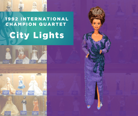 Representing...The 1992 Sweet Adelines International Champion Quartet, City Lights!