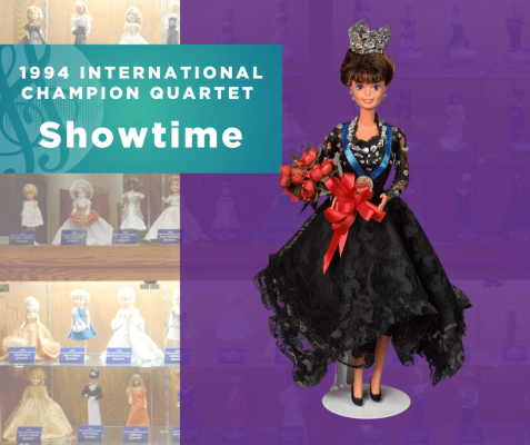 Representing...The 1994 Sweet Adelines International Champion Quartet, Showtime!