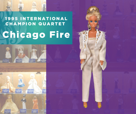 Representing...The 1995 Sweet Adelines International Champion Quartet, Chicago Fire!