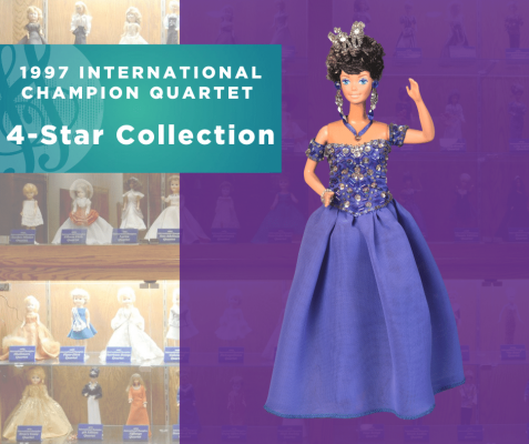 Representing...The 1997 Sweet Adelines International Champion Quartet, 4-Star Collection!