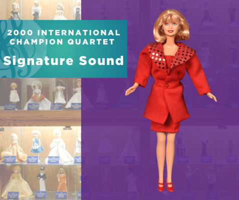 Representing...The 2000 Sweet Adelines International Champion Quartet, Signature Sound!