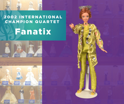 Representing...The 2002 Sweet Adelines International Champion Quartet, Fanatix!