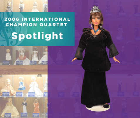 Representing...The 2006 Sweet Adelines International Champion Quartet, Spotlight!