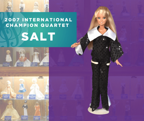Representing...The 2007 Sweet Adelines International Champion Quartet, SALT!
