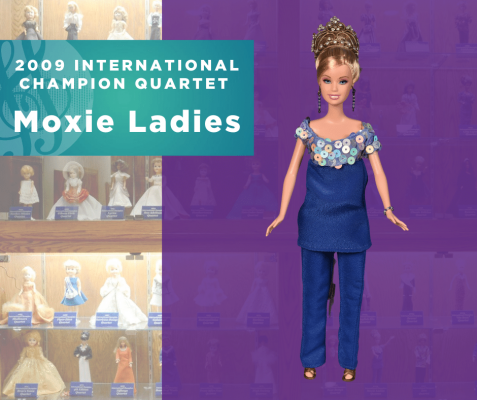 Representing...The 2009 Sweet Adelines International Champion Quartet, Moxie Ladies!