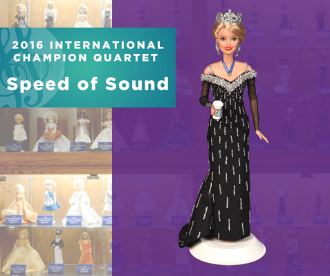 Representing...The 2016 Sweet Adelines International Champion Quartet, Speed of Sound!