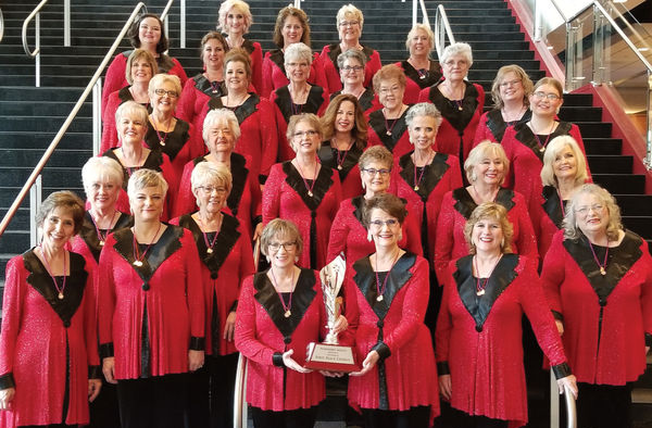 Spirit of Harmony chorus celebrating 40 years
