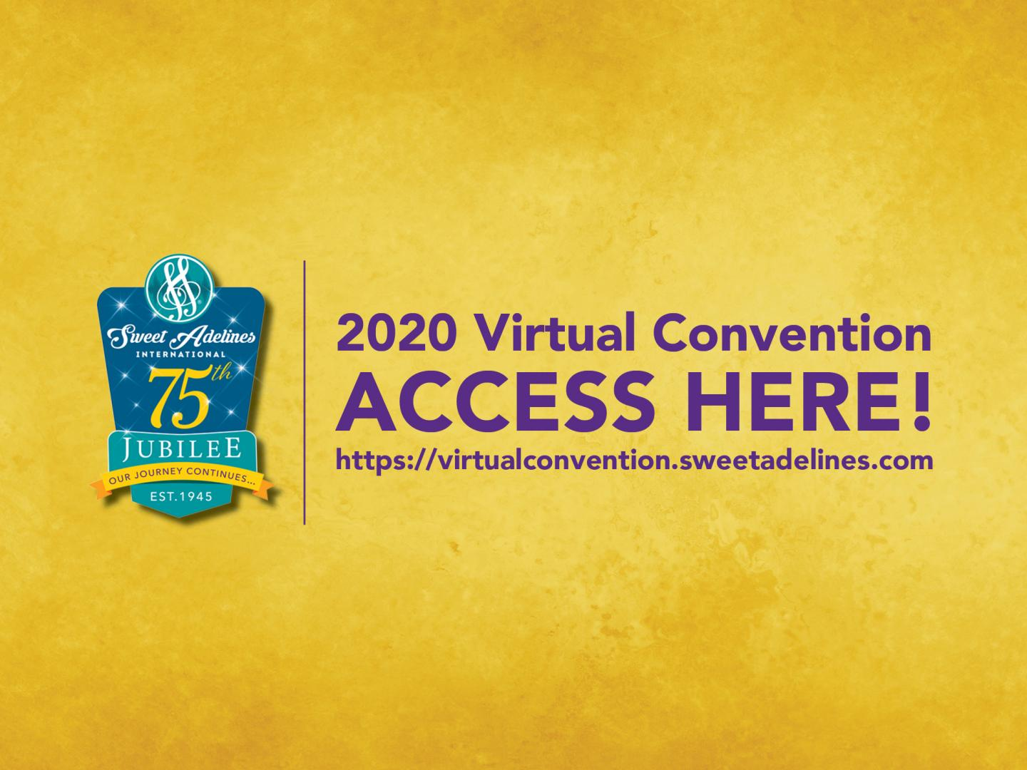 2020 Virtual Convention - Songs