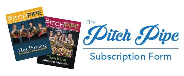 Subscribe to The Pitch Pipe